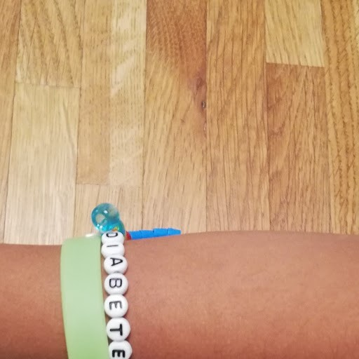 armband på arm